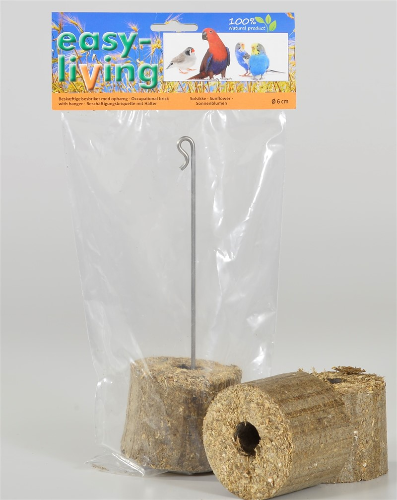 easy-living occupational brick with sunflower seed