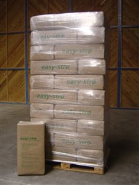 easy-strø pallet with 30 bales