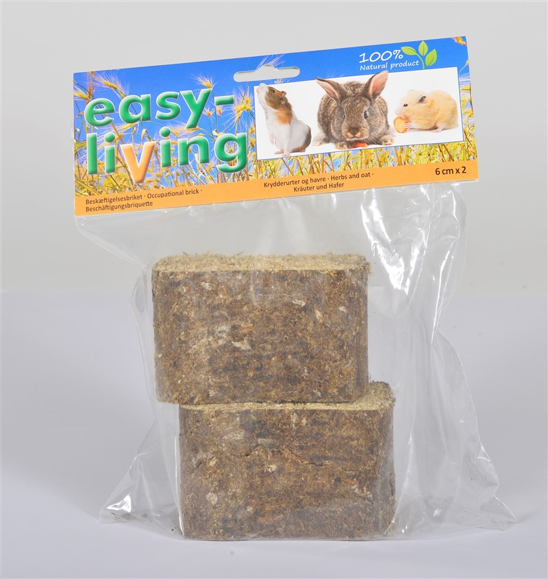 easy-living occupational brick wiht herbs and oat